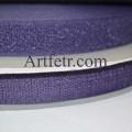 Липучка фиолетовая (велкро)