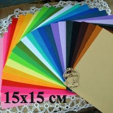 Жесткий фетр 1-1,3 мм, 15*15 см