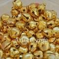 Бубенчики металлические 6 мм. Цвет - золото.