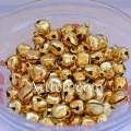 Бубенчики металлические 10 мм. Цвет - золото.