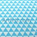 Бирюзовые треугольники