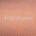Ткань в мелкую оранжевую полоску