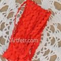 Тесьма вьюнок 5 мм, красный