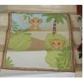 Пэчворк панель для одеяла Король Лев 93*118 см
