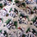 Ткань Медведица и малыши