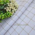 Белая ткань рисунок золотая сеточка