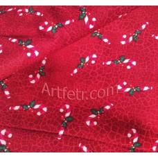 Новогодние ткани Рождественский леденец (Посох)