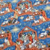 Рождественская ткань Вертеп
