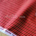 Хлопковая ткань Joann Fabric Золотая полоска на красном
