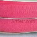 Липучка ярко-розовая (велкро)
