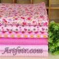 Набор хлопка в ярко-розовом цвете 20*30 см