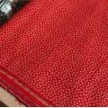 Красный хлопок в мелкую золотую точку Joann Fabric