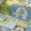 Ткань для пэчворка с животными